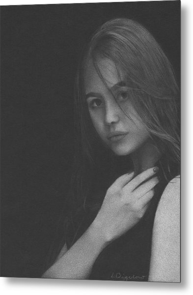 Muted Shadow No. 6 Metal Print