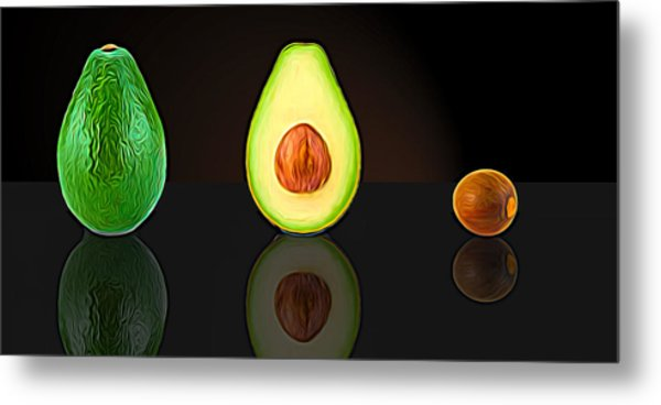 My Avocado Dream Metal Print