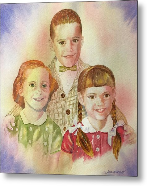 The Latimer Kids Metal Print