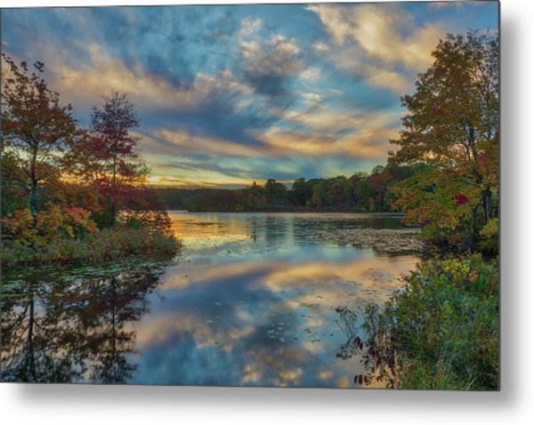 Metal Print featuring the photograph My Guiding Light by Juergen Roth