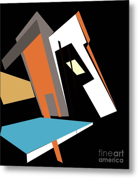 My World In Abstraction Metal Print