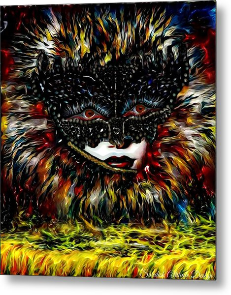 Mystica Coloure Metal Print