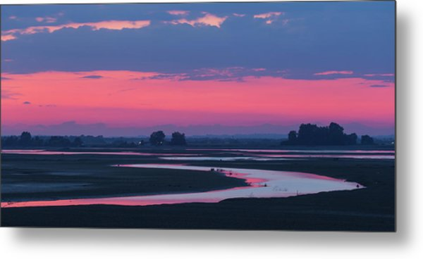 Mystical River Metal Print