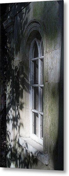 Mysterious Window Metal Print