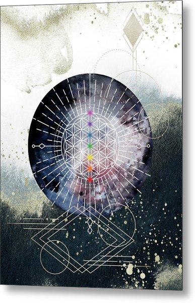 Metal Print featuring the digital art Namaste by Bee-Bee Deigner
