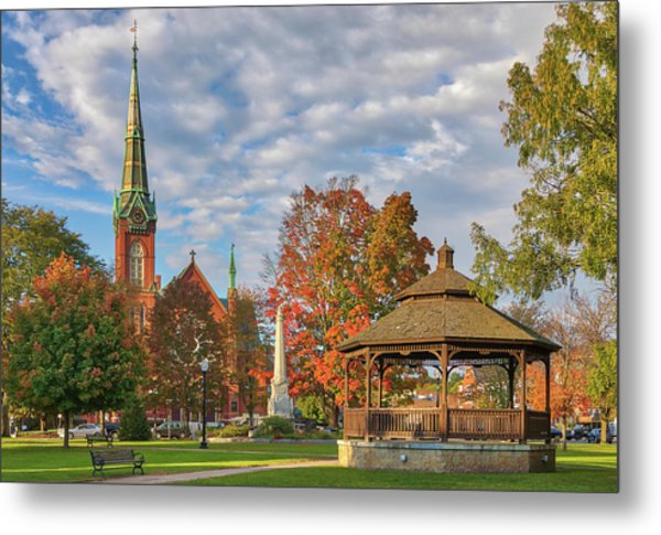 Metal Print featuring the photograph Natick Massachusetts by Juergen Roth