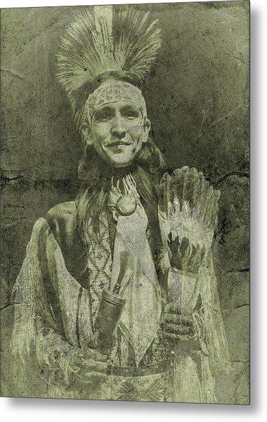 Native American Dancer Metal Print