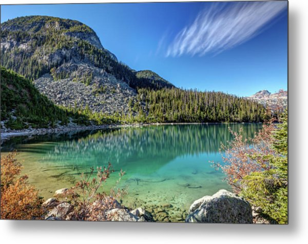 Metal Print featuring the photograph Natural Splendor Of The Joffre Lakes by Pierre Leclerc Photography