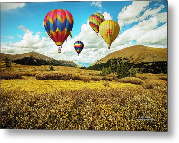 Navigating Guanella Pass Metal Print