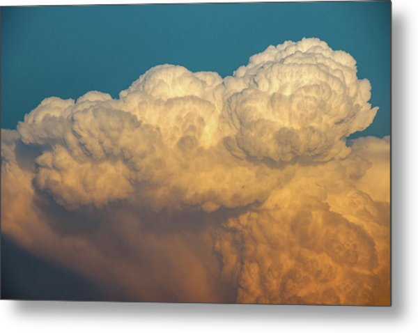 Nebraska Sunset Thunderheads 053 Metal Print