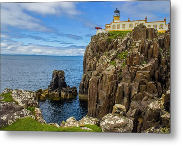 Neist Point Lighthouse Metal Print