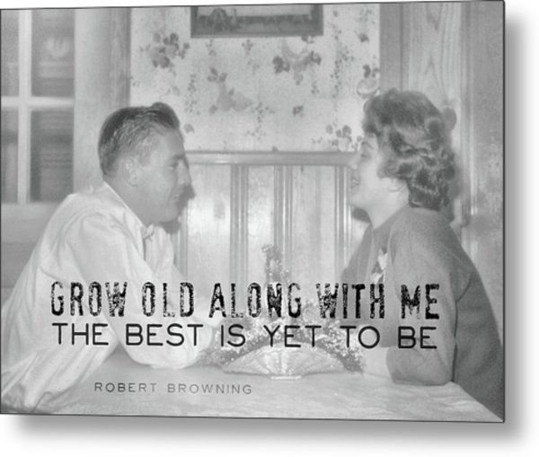 New Love Quote Metal Print by JAMART Photography