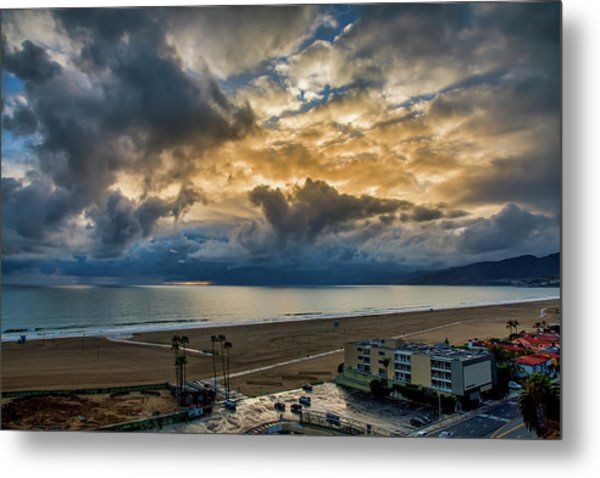 New Sky After The Rain Metal Print