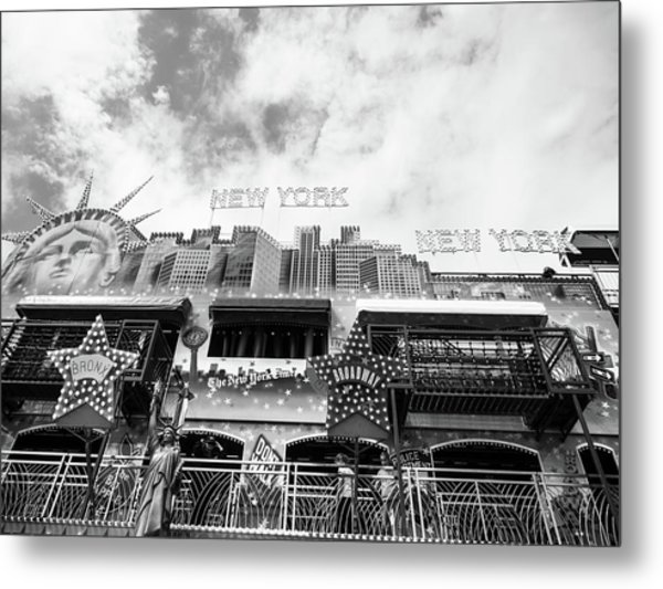 New York, New York Metal Print