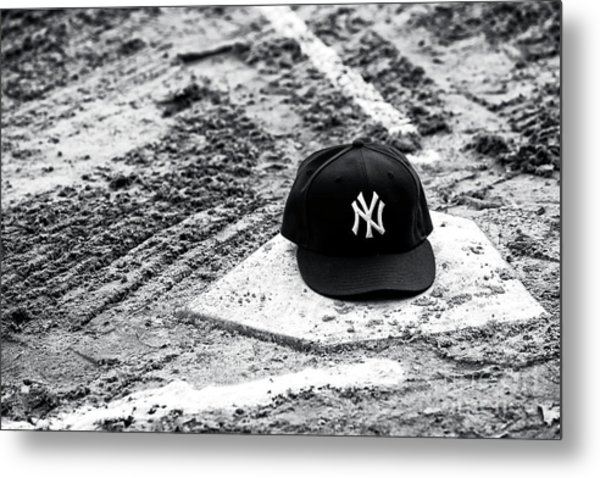 New York Yankees Home Metal Print