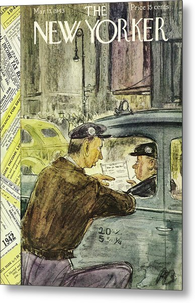 New Yorker March 13th 1943 Metal Print