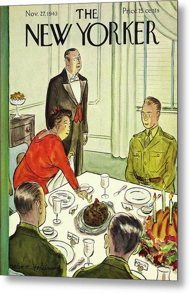 New Yorker November 27th 1943 Metal Print