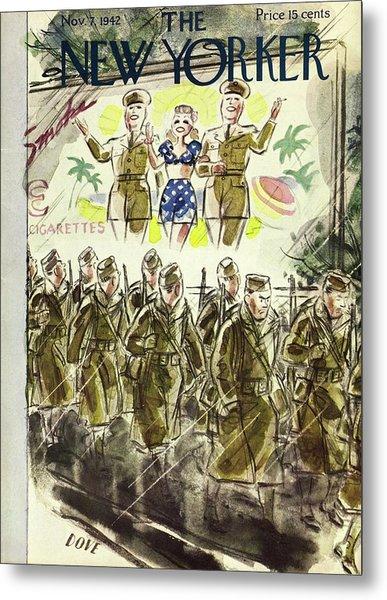New Yorker November 7th 1942 Metal Print