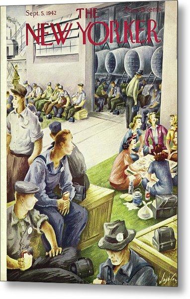 New Yorker September 5th, 1942 Metal Print