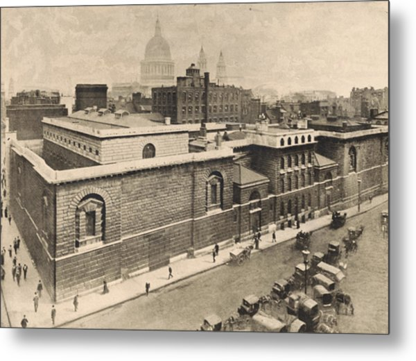 Newgate Prison Metal Print by General Photographic Agency