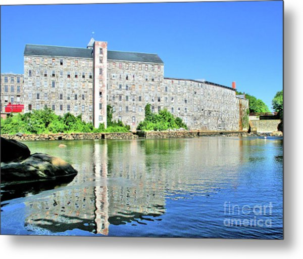 Metal Print featuring the photograph Newmarket New Hampshire by Debbie Stahre