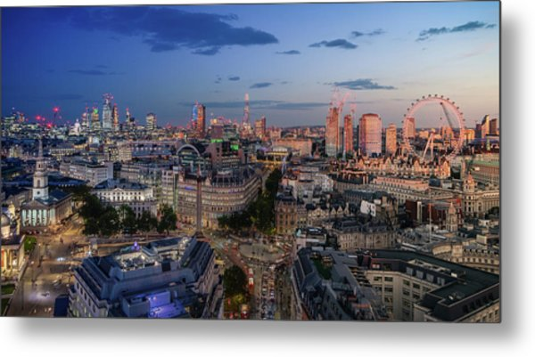 Metal Print featuring the photograph Night And Day by Stewart Marsden