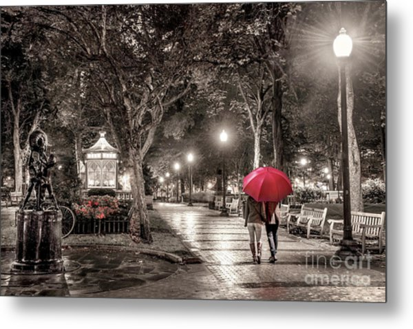 Night Walk Metal Print