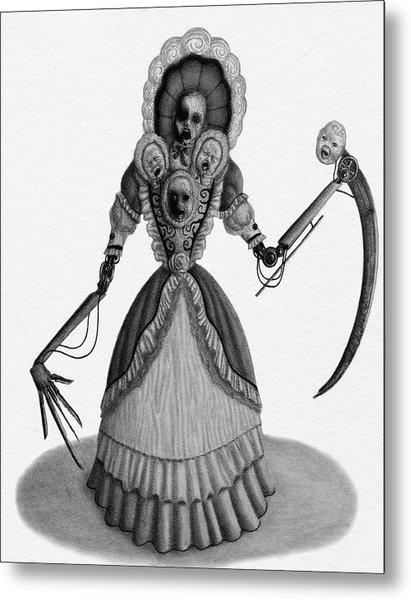 Nightmare Dolly - Artwork Metal Print