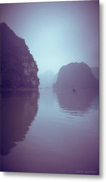 Ninh Binh River Metal Print