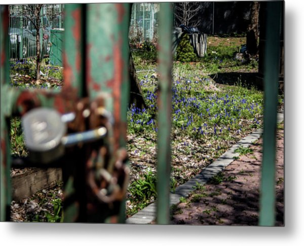 No Admittance Metal Print