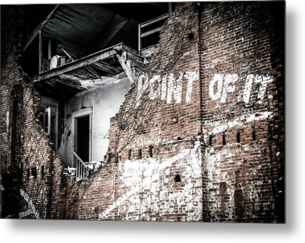 No Return Metal Print