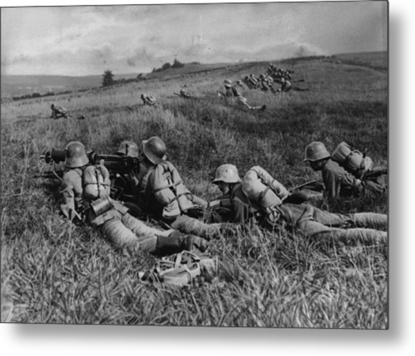 No Trench Metal Print by General Photographic Agency