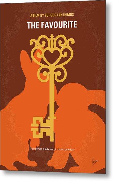 No1037 My The Favourite Minimal Movie Poster Metal Print