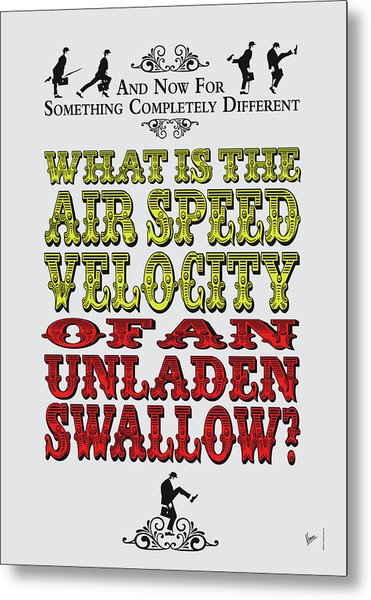 No14 My Silly Quote Poster Metal Print