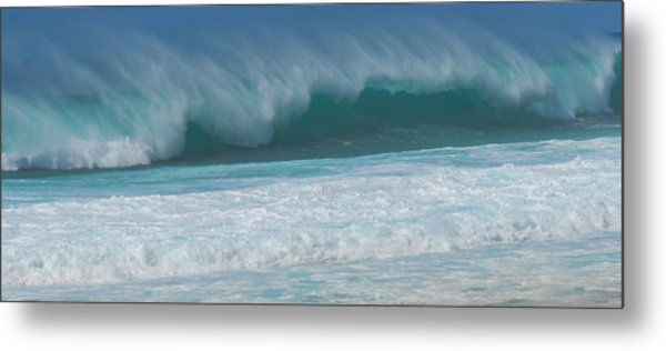 North Shore Surf's Up Metal Print