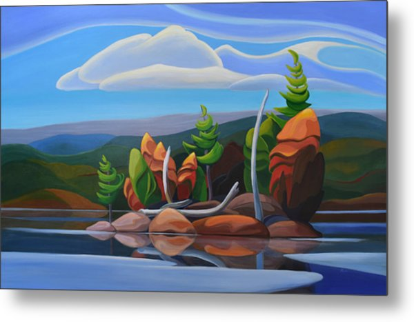 Northern Island II Metal Print