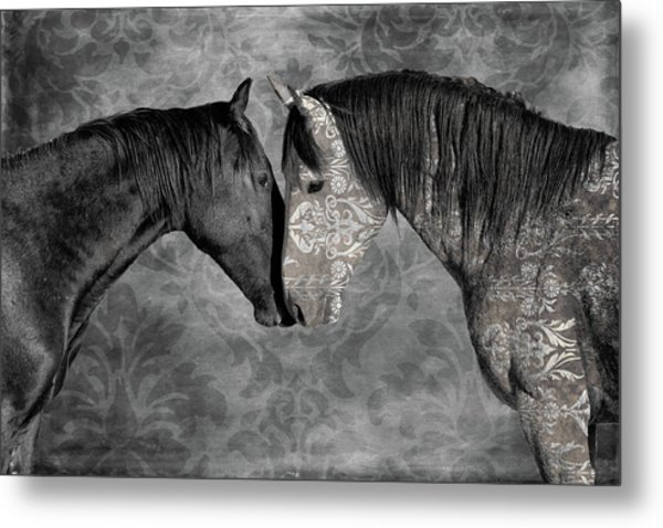 Not Always Black And White Metal Print
