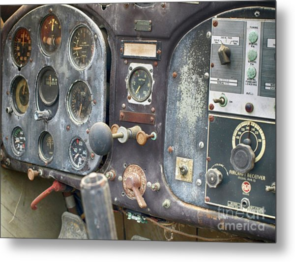 Nothing Passenger About This Plane  Metal Print by Steven Digman