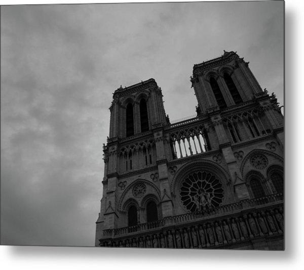 Metal Print featuring the photograph Notre Dame Cathedral by Edward Lee