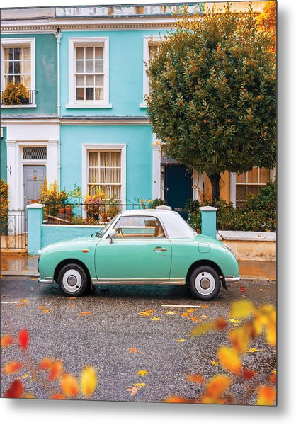Notting Hill Vibes Metal Print