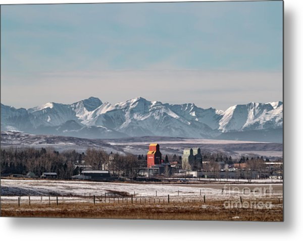 November Nanton Metal Print