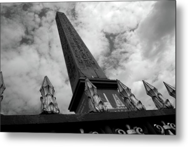 Metal Print featuring the photograph Obelisk by Edward Lee