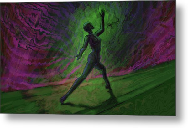 Obscured Dance Metal Print