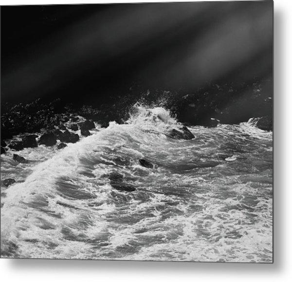 Ocean Memories Iv Metal Print
