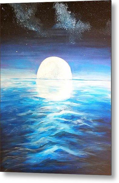 Ocean Moon  Metal Print