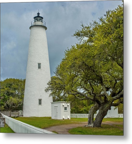 Ocracoke Lighthouse No 2 Metal Print