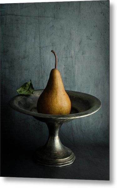 Ode To A Pear Metal Print