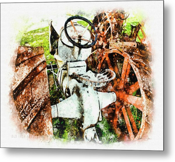 Old 1921 Fordson  Metal Print