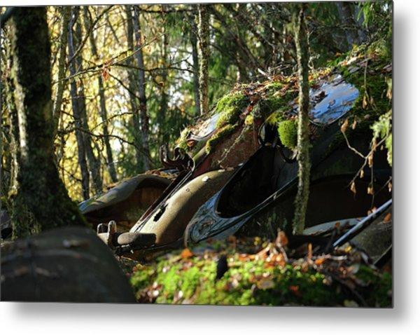 Old Cars Metal Print