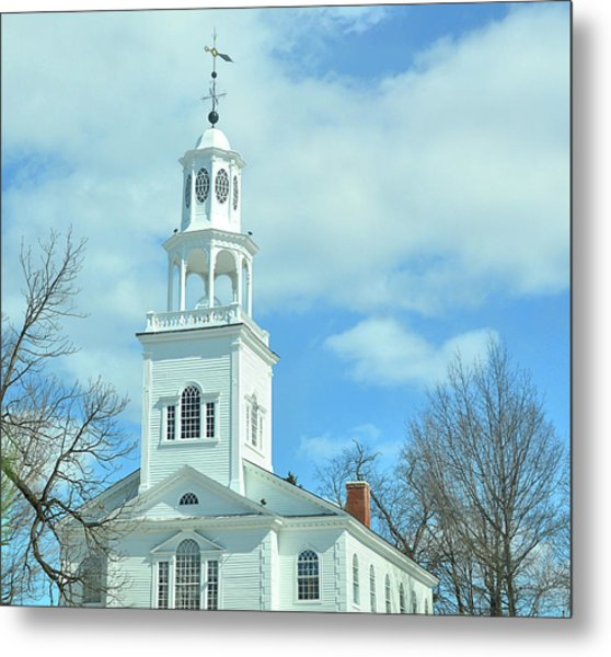 Old First Church Metal Print by JAMART Photography